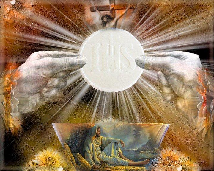 Oração Para Adoração Ao Santíssimo Sacramento Salubong